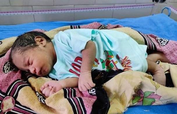 Newborn found in garbage dump