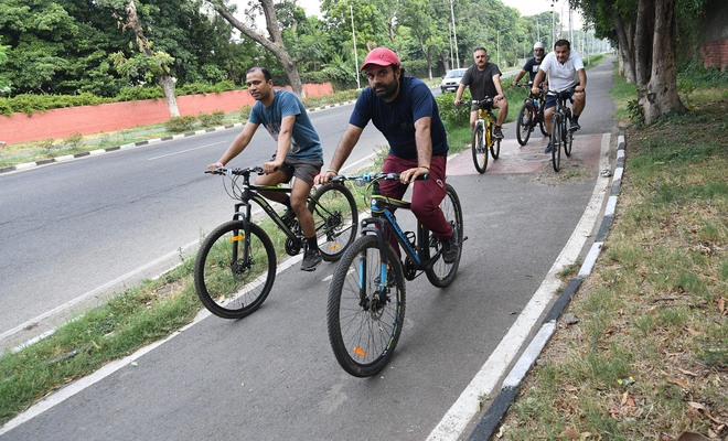 India Cycles4Change challenge: Chandigarh to get Rs1-cr grant from Centre