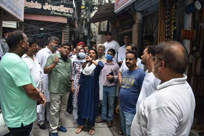 Hoshiarpur: Dabbi Bazaar, Sheesh Mahal facelift soon