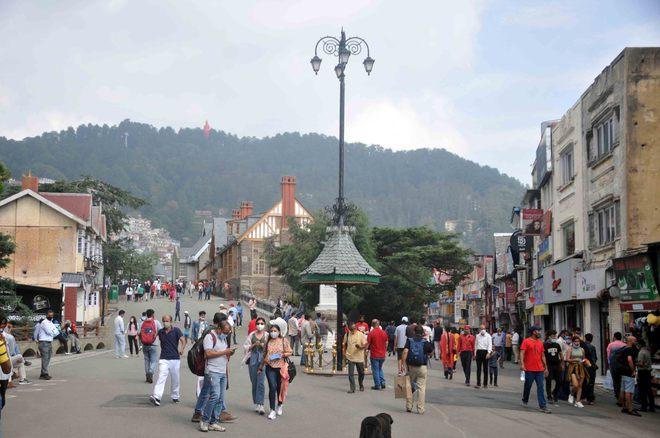 Water shortage in Shimla as tourist footfall increases