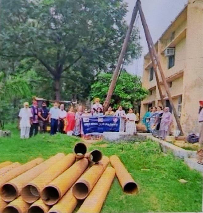 Phagwara Diary: Rainwater harvesting plant set up at ITI