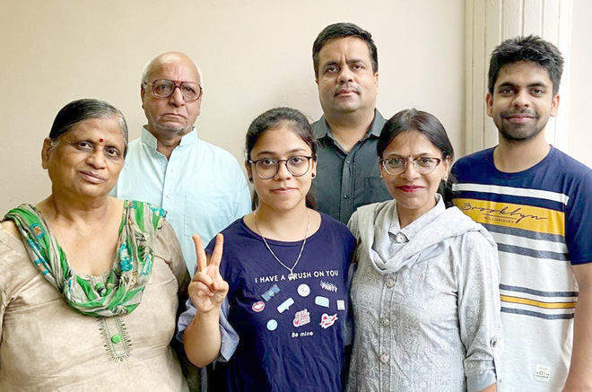CBSE Class XII results: Akshita, Aaliah fly high in Jalandhar with 99.2%