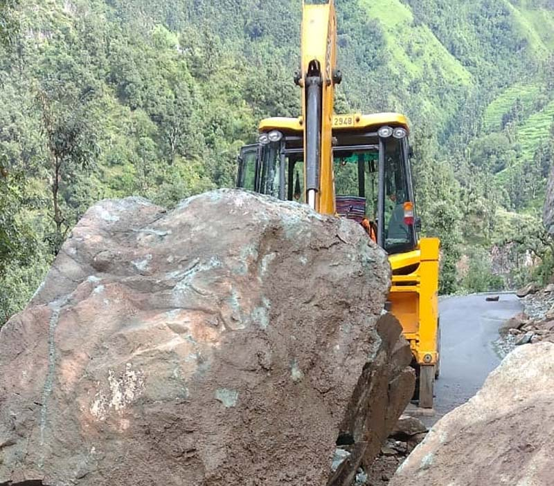 Dalhousie: Roads damaged, Rs 38 cr loss suffered
