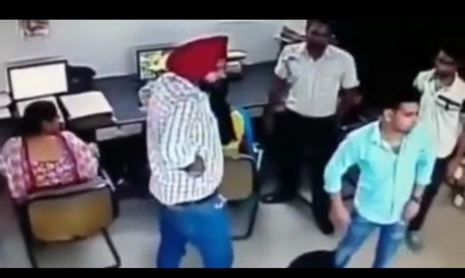 Amritsar: Woman thrashed, DTO abused, video goes viral