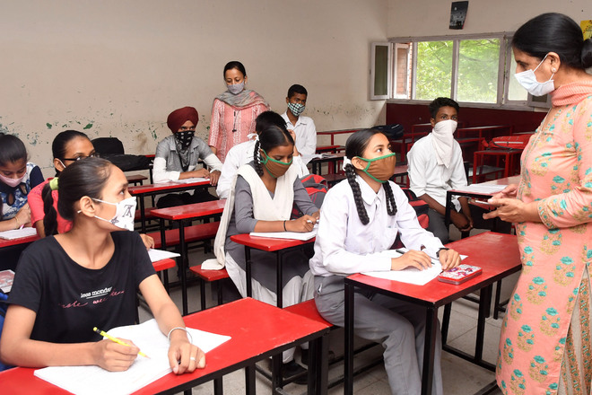 Class X-XII: Mohali schools reopen, see thin attendance