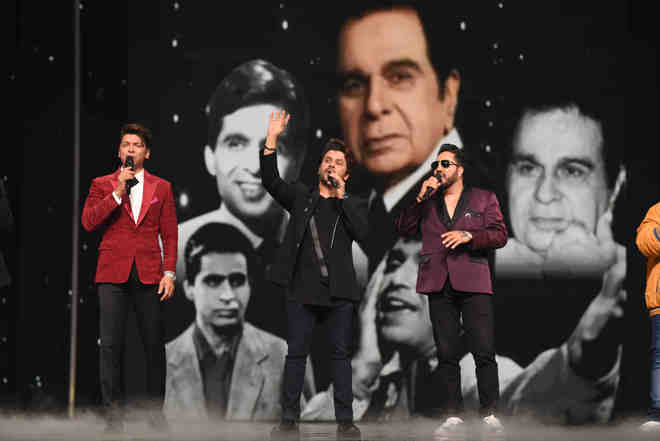 Javed Ali, Shaan and Mika Singh pay an emotional tribute to Dilip Kumar