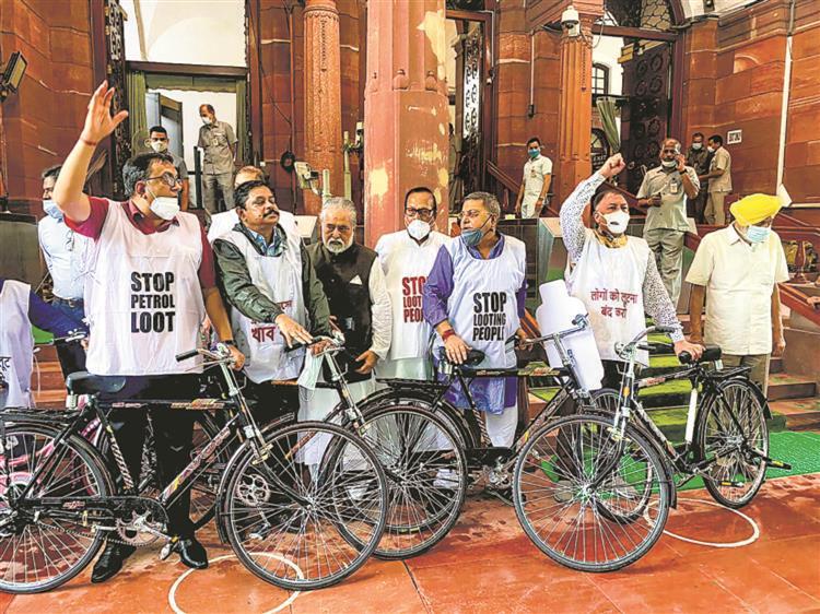 Petrol price in Delhi rose 63 times, diesel 61 this year: Govt
