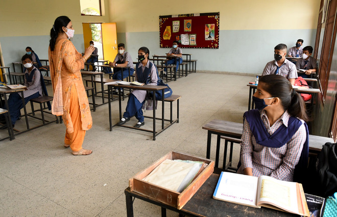68% students attend Haryana government schools on Day 1