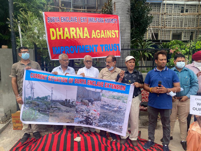 Surya Enclave plot holders in Jalandhar seek justice