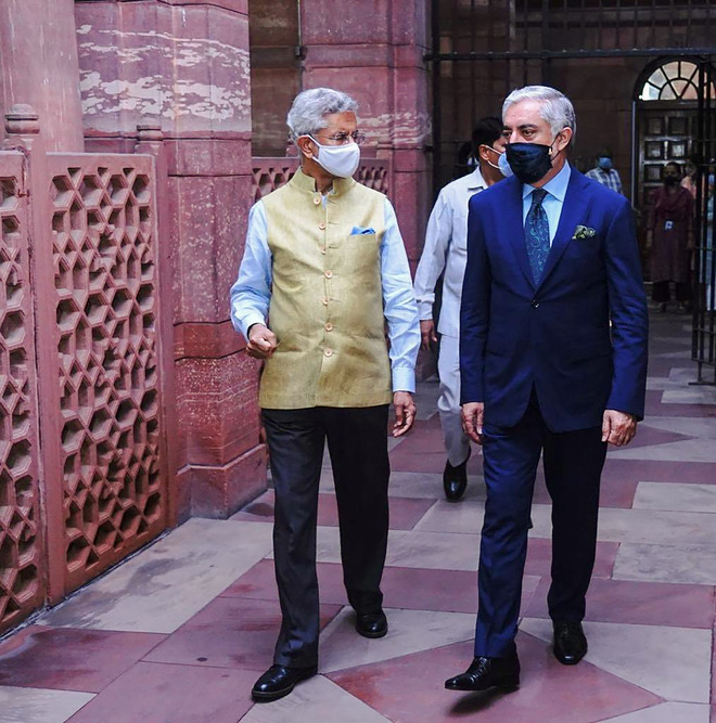 External Affairs Minister S Jaishankar meets top Afghan peace negotiator Abdullah