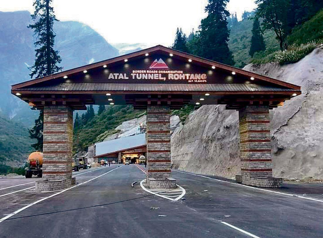Atal Tunnel to be shut for one hour twice a week