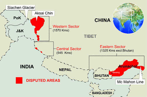 China seizes maps showing Arunachal as part of India