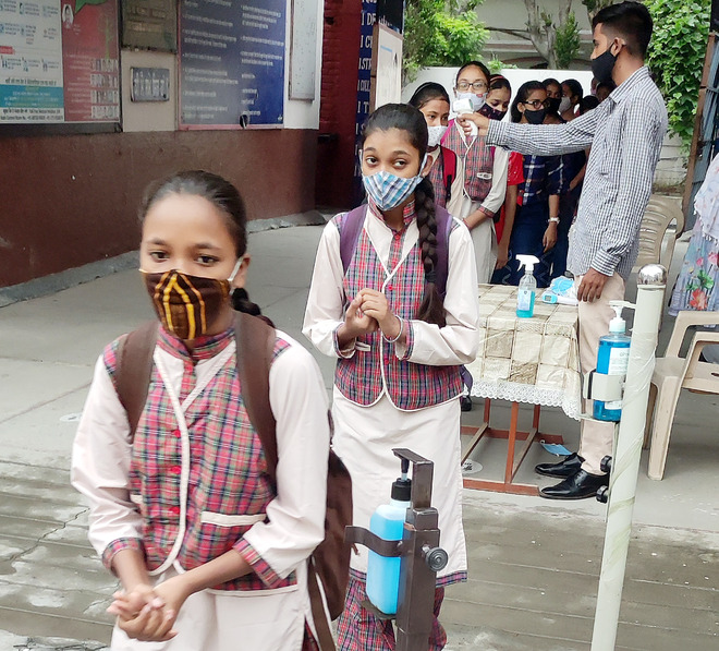 Schools reopen, see 50% attendance in Amritsar district