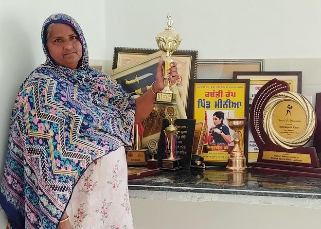 Raikot village praying for home-grown boxer Simranjit Kaur's win
