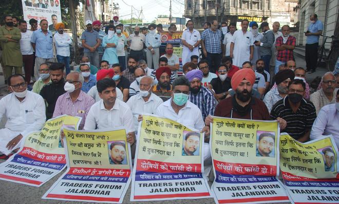 Jain murder: 1 held; traders demand justice