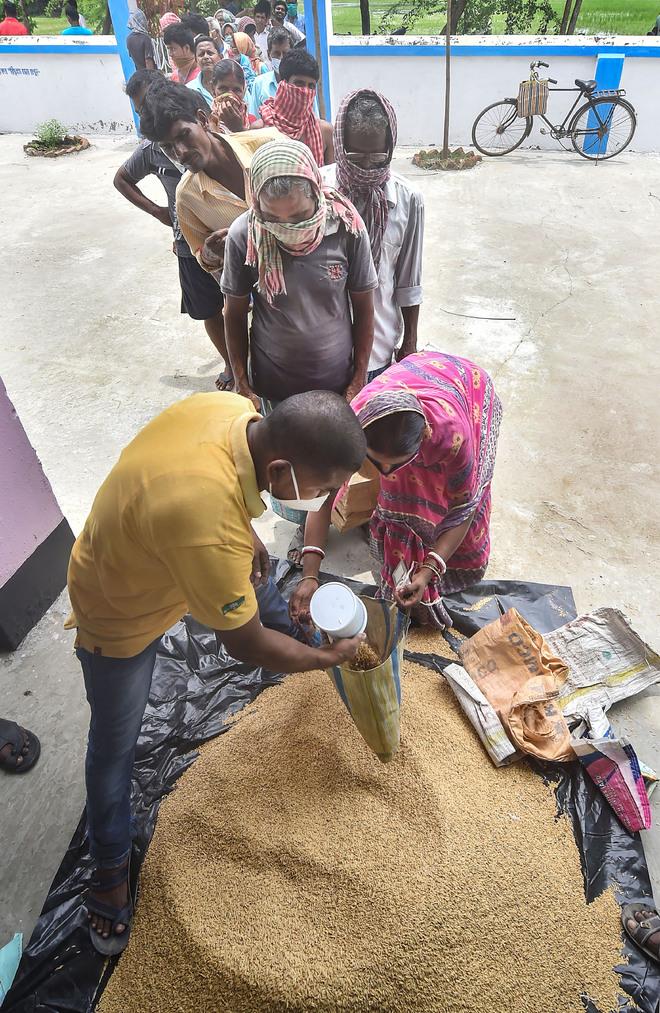Punjab cancelled 2.87L ration cards in 3 yrs, Haryana 2.91L, Himachal 59K