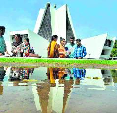 पंजाबी यूनिवर्सिटी में कला प्रदर्शनी