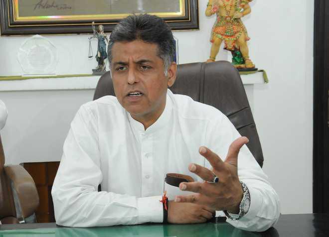 Probe fleecing by Mohali colonisers: MP Manish Tewari