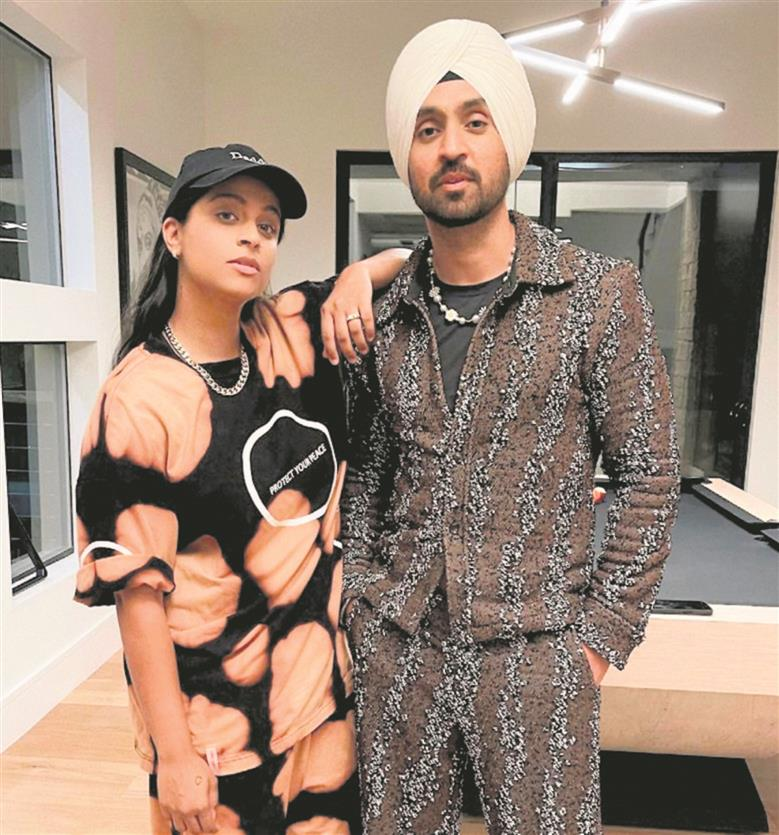 Diljit to collaborate with Lilly Singh?