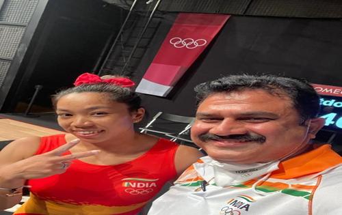 Jalandhar-based coach of Mirabai Chanu elated at Tokyo win