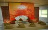 An art work on life of Guru Nanak Dev that captures the visual beauty of holy city Amritsar