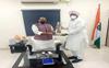 FM Manpreet Badal meets Rajnath Singh, seeks two Sainik Schools for Punjab