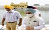 India's US envoy Taranjit Singh Sandhu, wife pay obeisance at Golden Temple