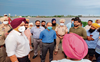 Paddy crop on over 2,000 acres submerged in Patiala district