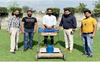 Grass cutter model developed by students of St Soldier Institute of Pharmacy and Polytechnic