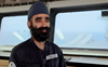 Sikh official on UK Navy warship headed to India