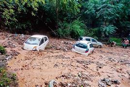 14 dead as cloudbursts lead to flash floods in Lahaul, Kishtwar