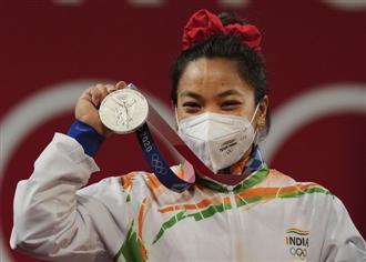 Mirabai Chanu's silver lifts nation's spirits