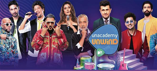 Get set for a musical ride with Unacademy Unwind with MTV from August 13 onwards...