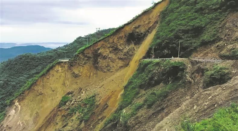 Mining to blame for Himachal Pradesh road cave-in