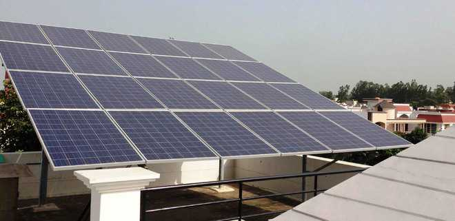 Portal launched for processing solar net, gross applications in Chandigarh