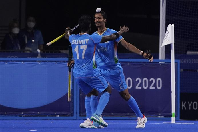 India beat Great Britain 3-1, enter semis of Olympics men's hockey after 49 years