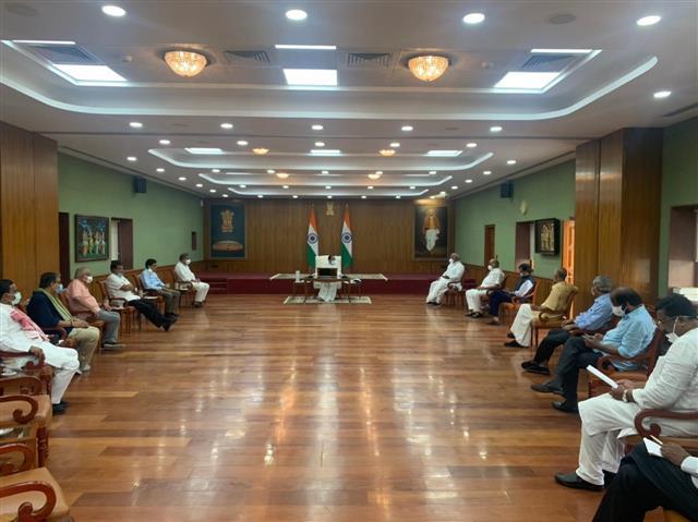 Govt stonewalled them, 11 Opposition parties tell Rajya Sabha chairman