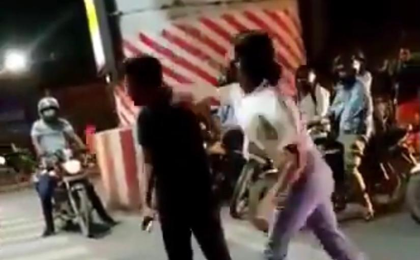 Lucknow girl who slapped cabbie over 20 times in viral video booked for robbery attempt; watch entire video
