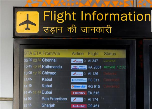 Air India decides not to fly to Kabul; 2 US-Delhi flights diverted to avoid disturbed Afghan airspace