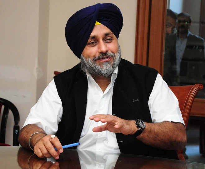 Sukhbir Badal says proposal to appoint full-fledged Administrator for Chandigarh another attempt to dilute Punjab's claim