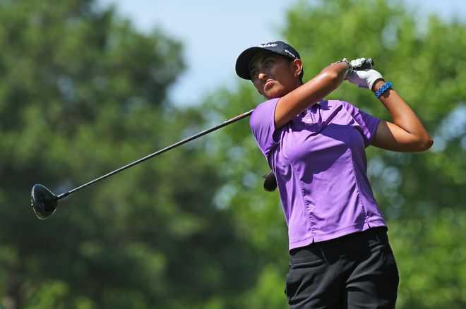 Golfer Aditi Ashok secures T-10 finish
