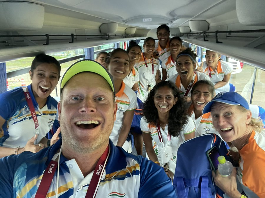Head coach Marijne breaks down as Indian women's hockey team reaches Olympics semis