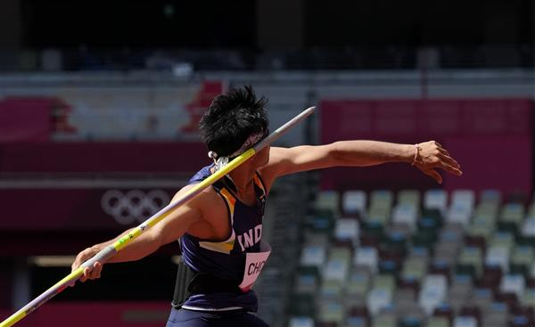 Tokyo 2020: Neeraj qualifies for javelin throw final with superb first throw