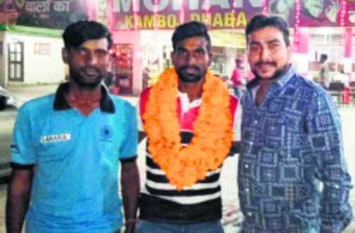 Sonepat: Tokyo medal winner Sumit Kumar worked at dhaba, a free stick changed his life