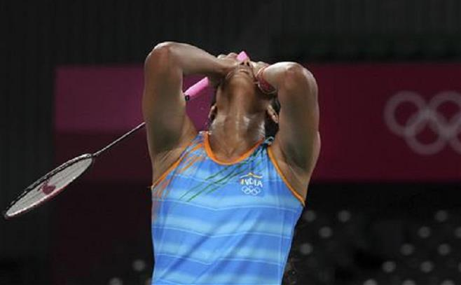 In 'tears' after semifinal loss, Sindhu gives her father the 'gift' he wished for