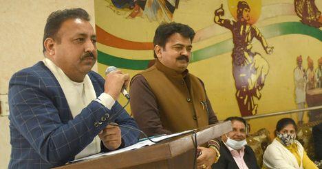 Chandigarh Mayor Ravi Kant Sharma to lay 13 stones in 7 days