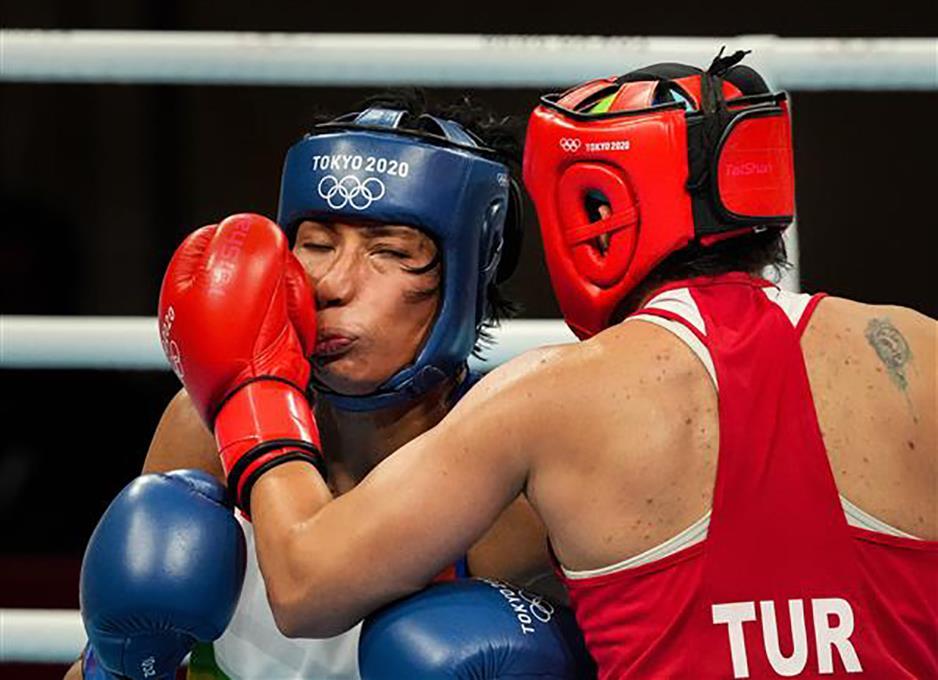 Lovlina Borgohain signs off with boxing bronze at Tokyo Olympics