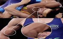Watch video: Wrestler Ravi Kumar Dahiya got bitten by opponent during last few seconds at Olympic semis