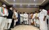 13 party leaders attend Rahul Gandhi's breakfast meeting; AAP, BSP stay away