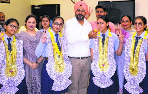 3 get 100 per cent marks in PSEB Class 12 exams